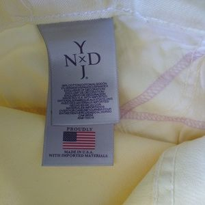 NYDJ Jeans - NYDJ Ankle Mid-Rise Stretch Jeans 8P Yellow